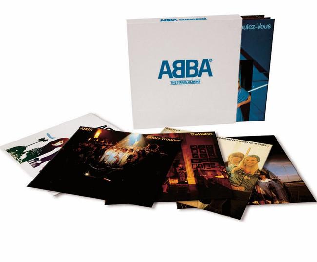 Abba The Studio Album 8xlp Cofanetto Discografia 2014