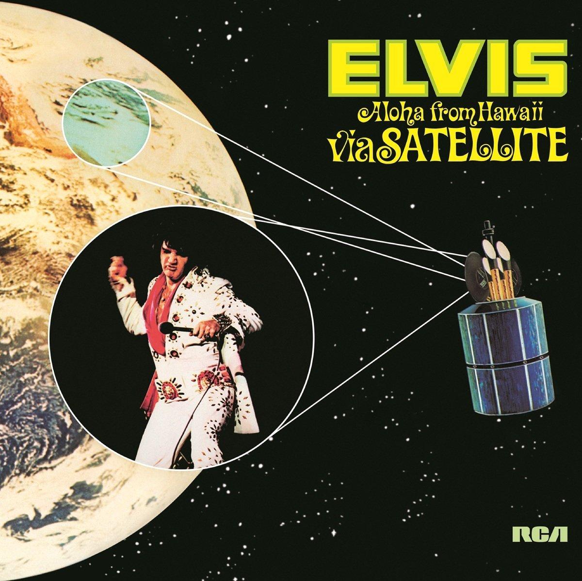 Aloha From Hawaii Via Satellite 4xlp Vinile Elvis