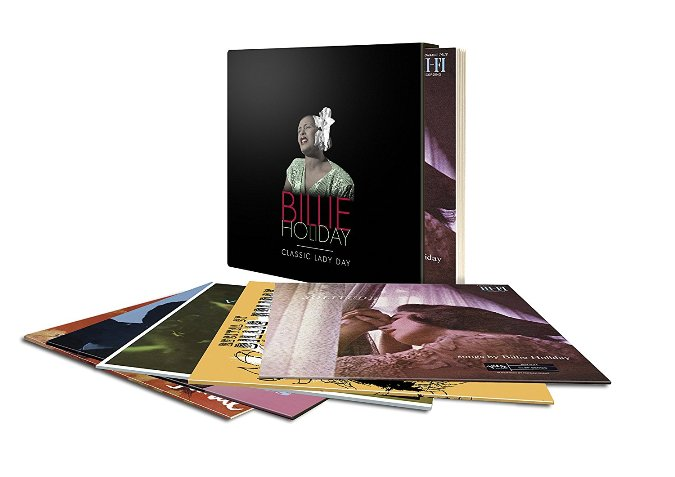 Cofanetto Billie Holiday 5lp Classic Lady Day Vinyl Box