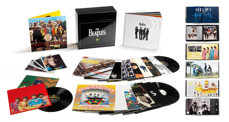 The Beatles Stereo Boxset 16lp Vinili The Beatles 2012