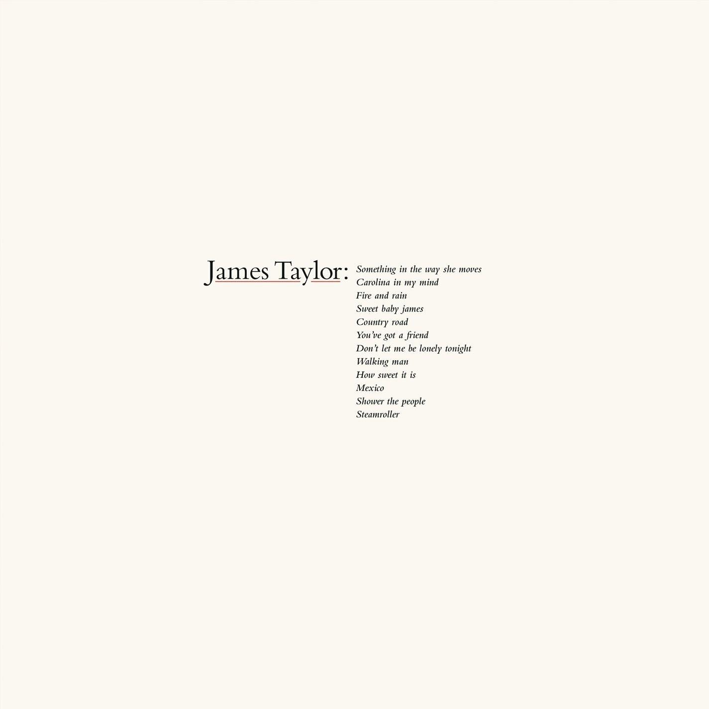 Greatest Hits Lp Vinile James Taylor Vinili Online 1976