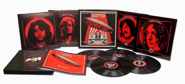 Cofanetto Mothership 4xlp Vinile Led Zeppelin 2007