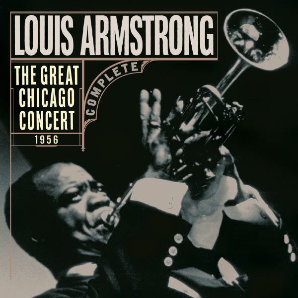 Great Chicago Concert 1956 3xlp Vinili Louis Armstrong