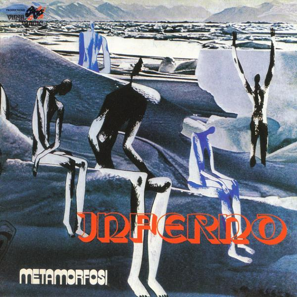 Inferno Lp Vinili Metamorfosi Progressive Italiano 1973