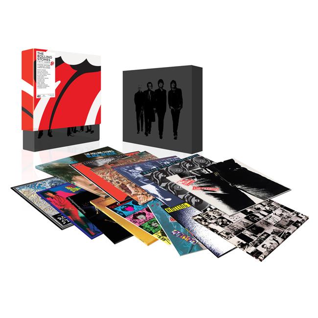 Cofanetto The Rolling Stones Box Lp 1971 2005 Vinili 2010