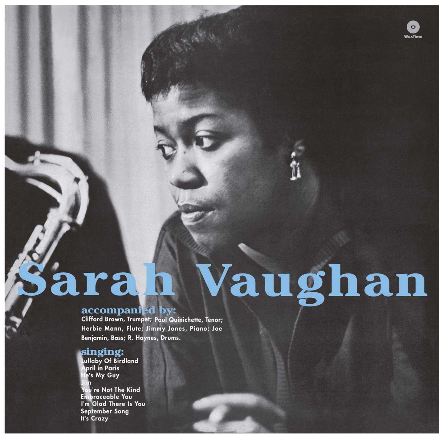 Sarah Vaughan With Clifford Brown Lp Vinili Sarah