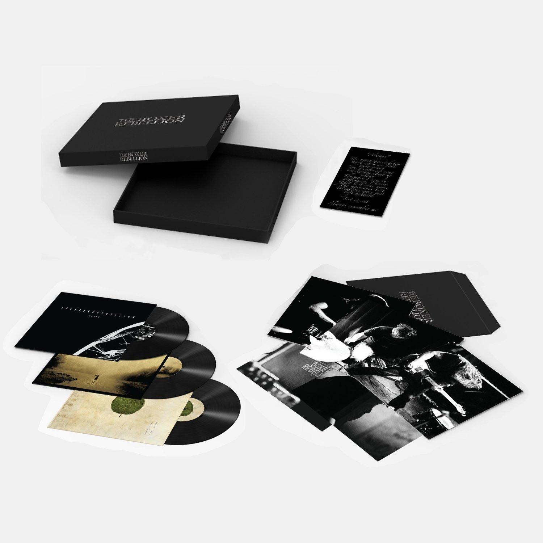 Vinyl Boxset 3xlp Vinile The Boxer Rebellion Vinili