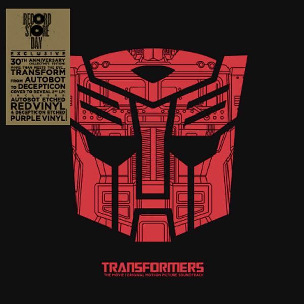 Transformers The Movie Soundtrack 2xlp Shop Online 1986